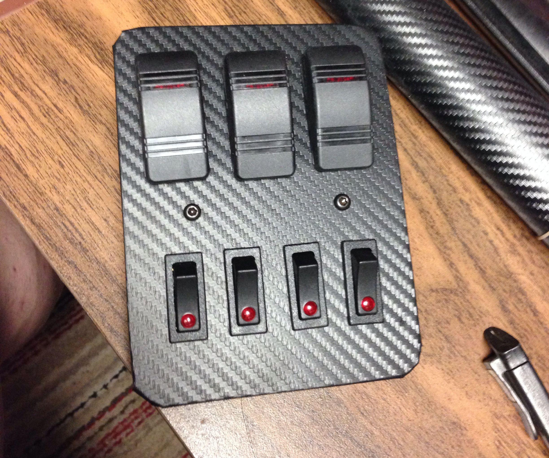 Chevy Blazer Switch Console