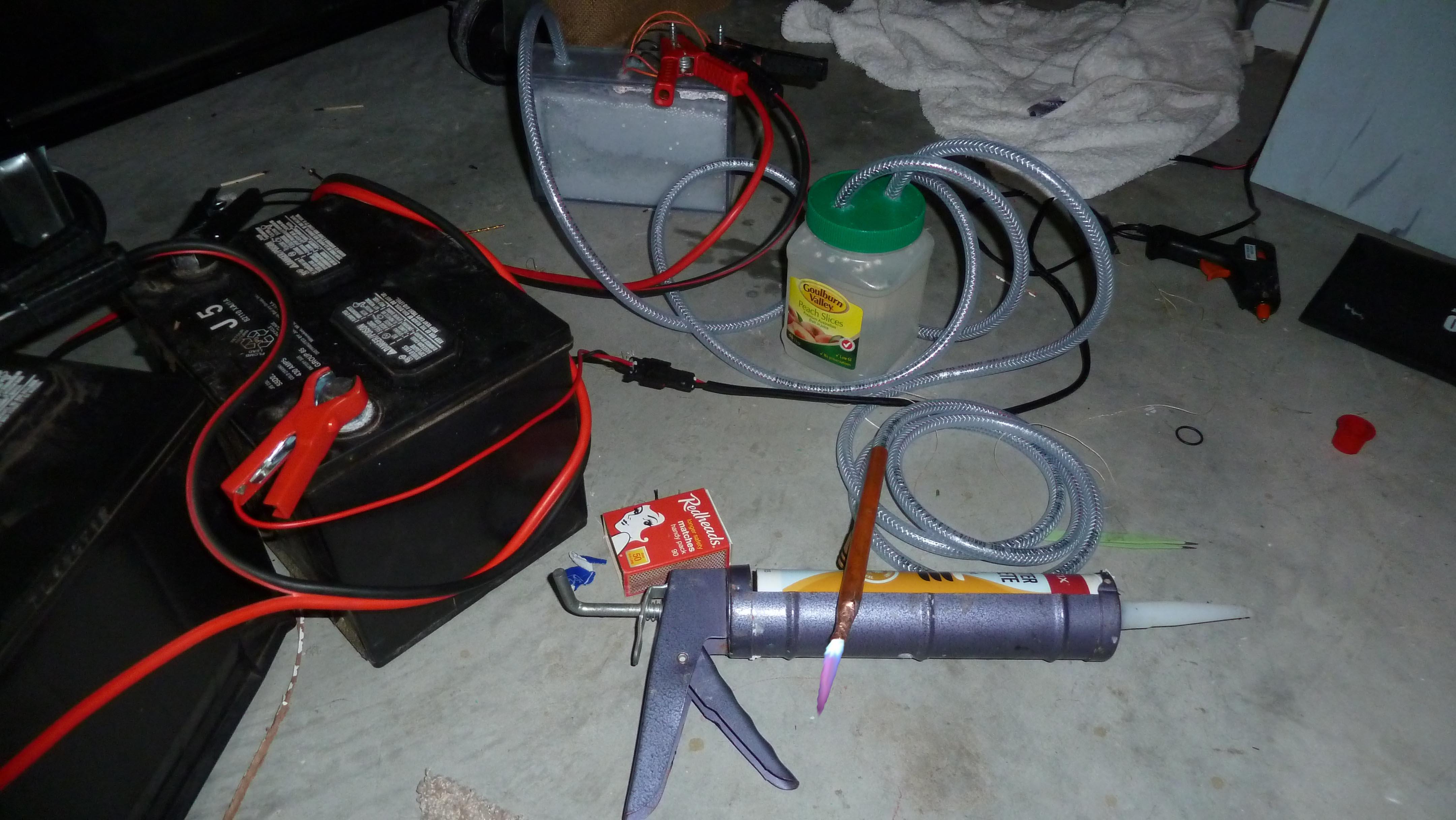 Hydrogen Gas Torch