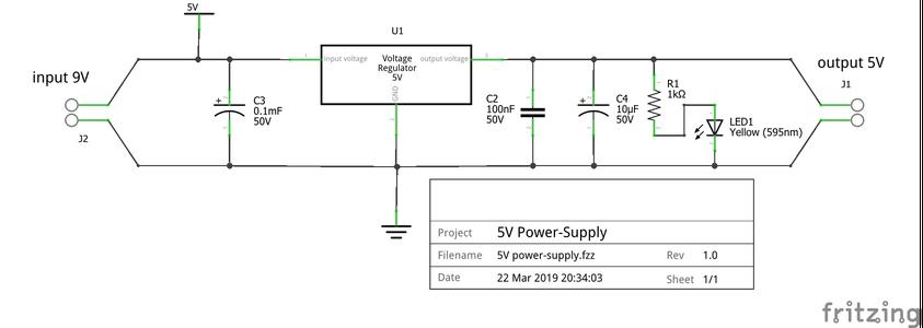 5V Power-supply Making