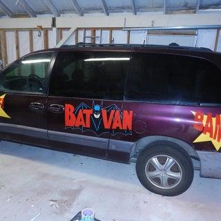 Custom Painted Car Graphics