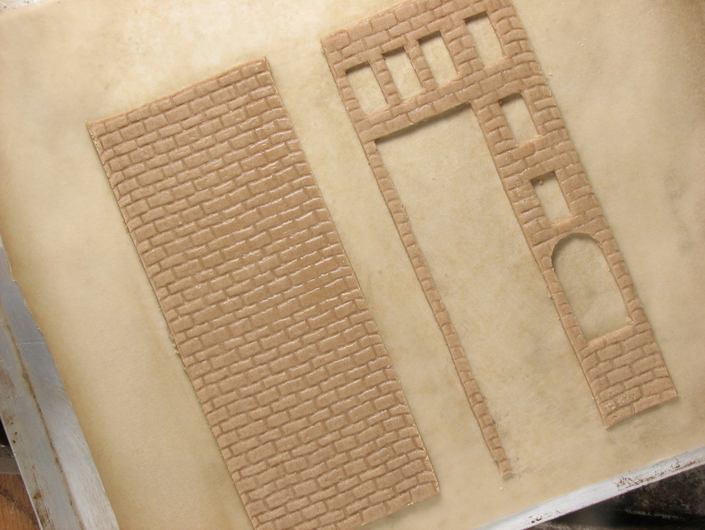 Roll, Cut & Shape Gingerbread Pieces