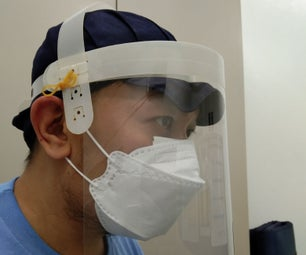 A Decent Looking DIY Face Shield (size Adjustable and Swivel)