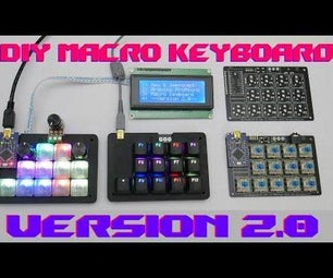 Programmable Stream Deck, Hot-Key, Macro Keyboard With RGB LEDs