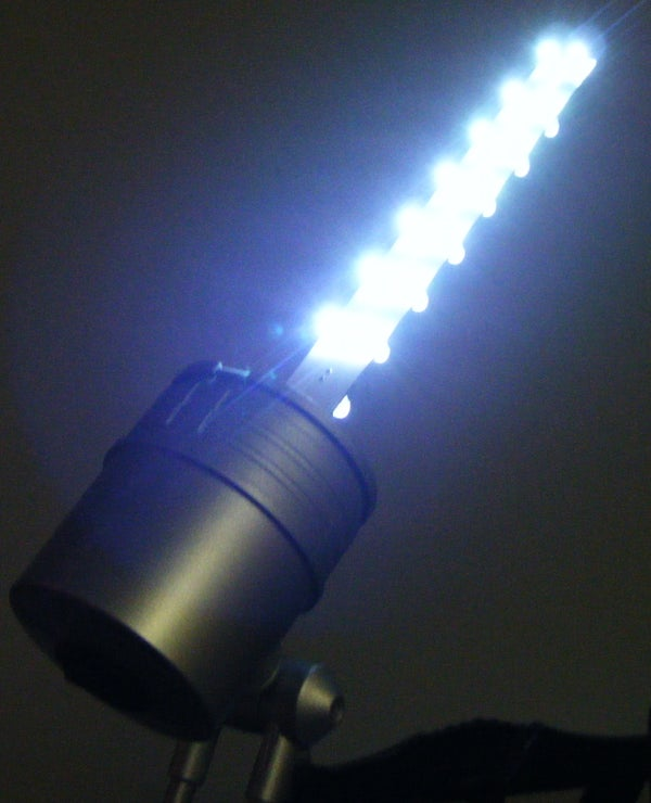 Repurpose a Lamp With LEDs