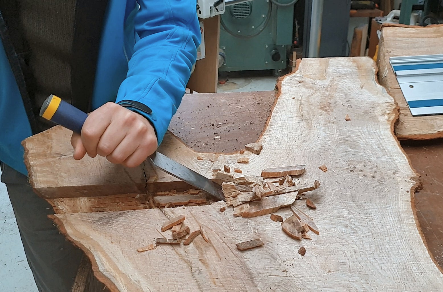 Mortise #2: Chisel Out the Waste and Square Off the Corners
