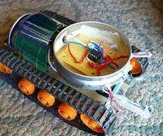 Easy Arduino Light Following Robot