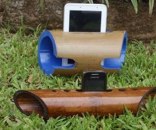 竹子扬声器