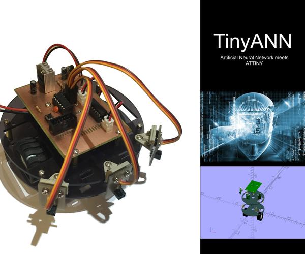 TinyANN, Artificial Neural Network Meets ATTINY