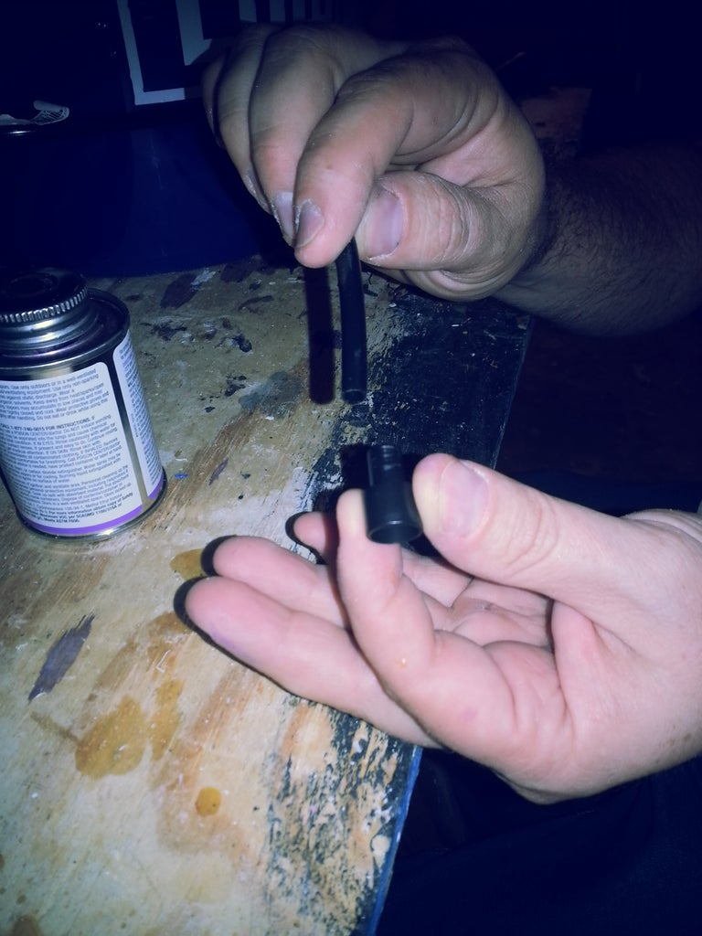 Prepping the Drip Tubing
