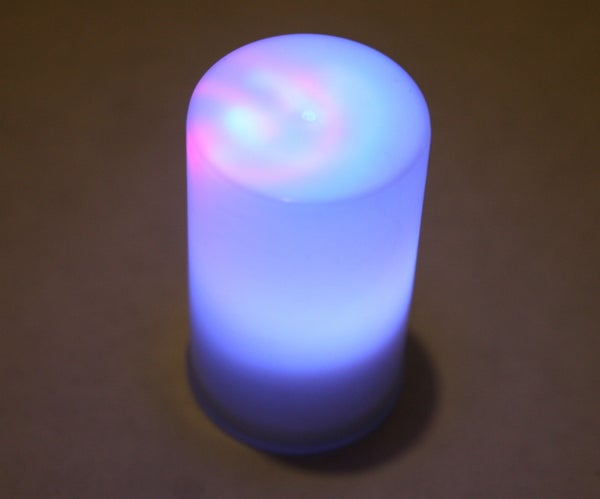 """Easy LED Color Changing """"Candle"""""""