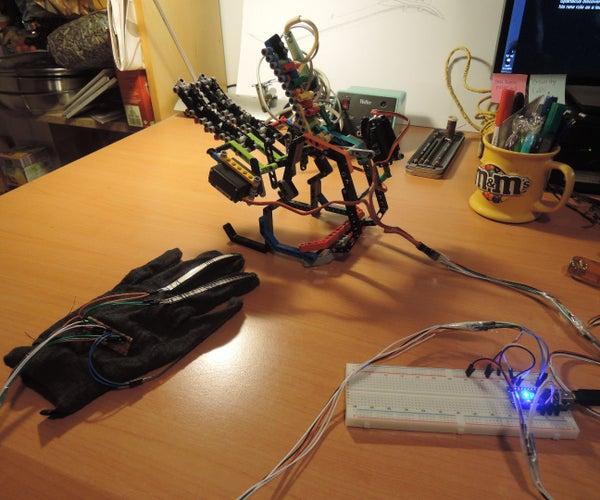 3-fingered Arduino Robot Hand