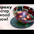 Epoxy Resin and Scrap Wood Bowl // Woodturning - How To