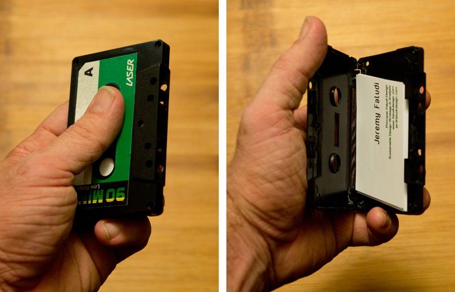 Cassette Tape Business Card Holder - Instructables Craft