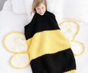 Bumble Bee Crochet Snuggle Snack