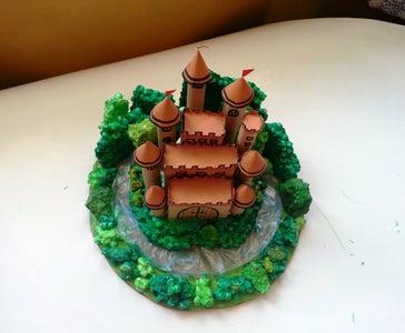 DIY Miniature Castle