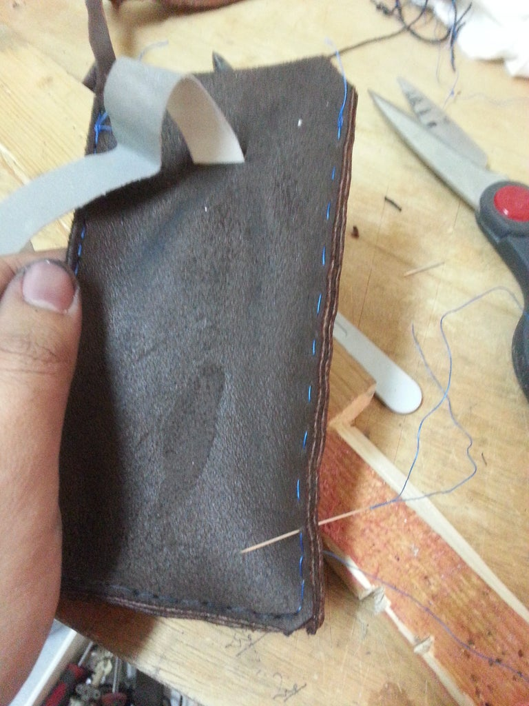 Stitching the Sides and Adding the Puller