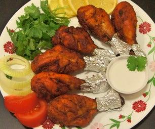 Paleo Tandoori Chicken and a Coconut Cream Dip