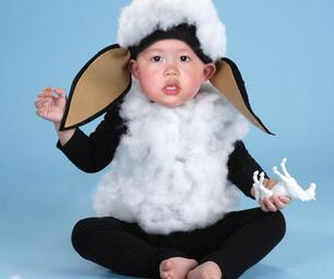 Ba Ba Black Sheep Halloween Costume