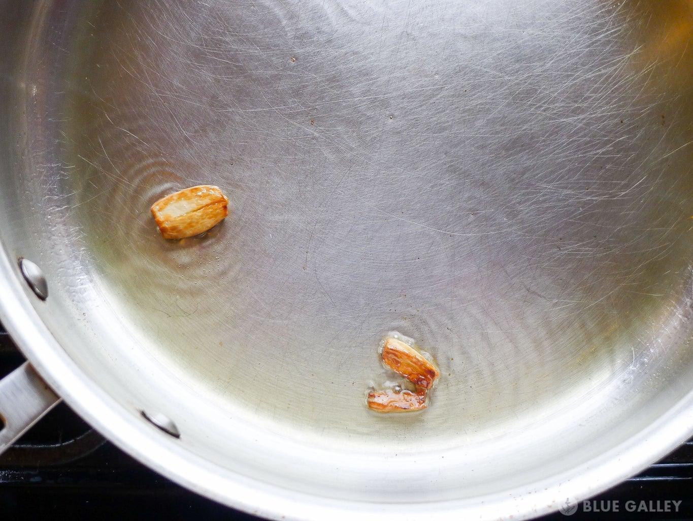 Cook the Shiitake Mushrooms