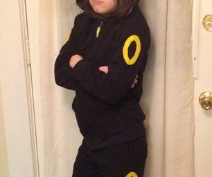 Umbreon Pokemon Costume
