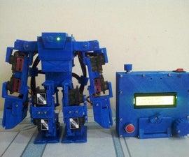 Arduino Humanoid Robot -cancer Ms