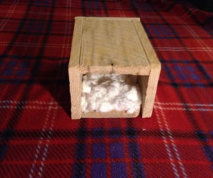 Hand Made Pallet House for Rodent