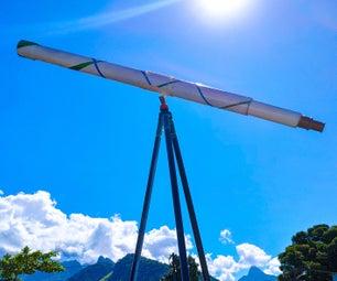 如何制作折射望远镜