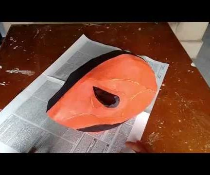 Deathstroke Mask (Deathstroke, Slade Wilson) Cardboard