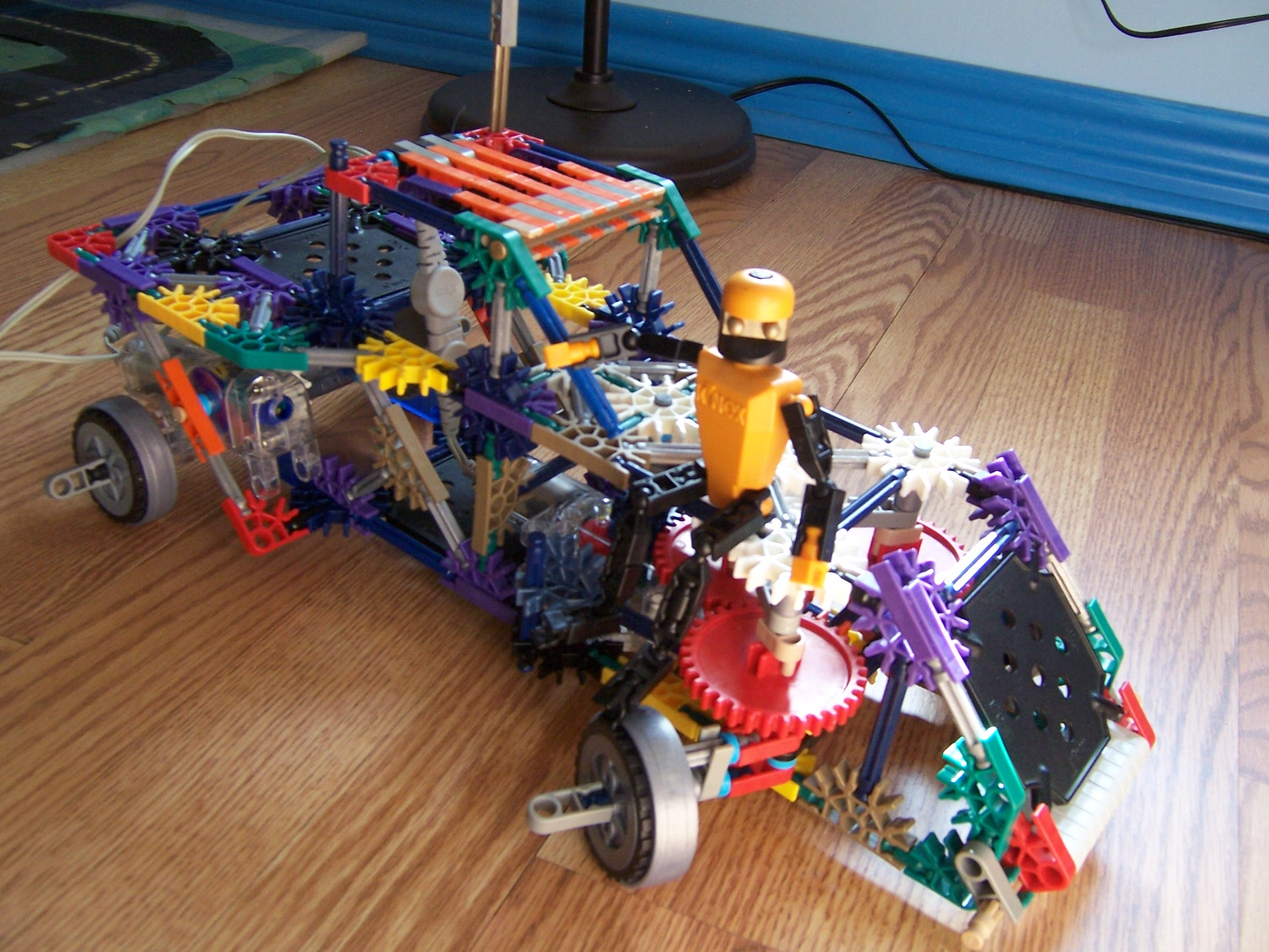 The Raider-A Knex Vehicle with Motorized Steering