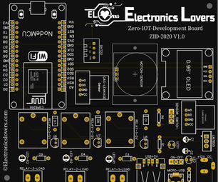 ElectronicsLovers ZERO-IoT-Development Board – ZID-2020