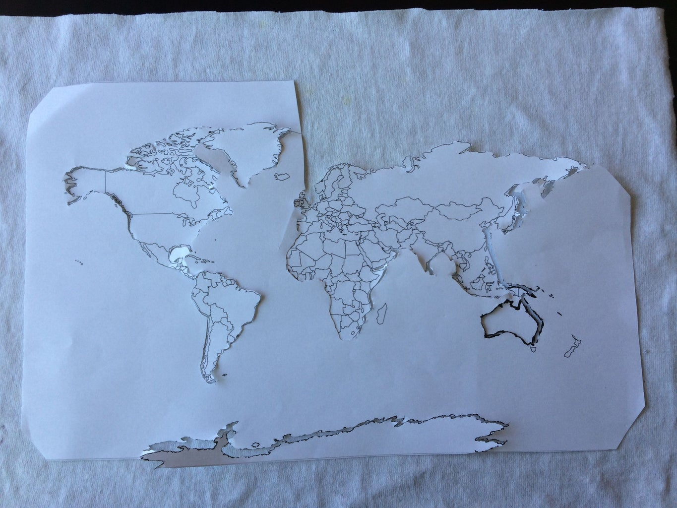Cut Out Your Map