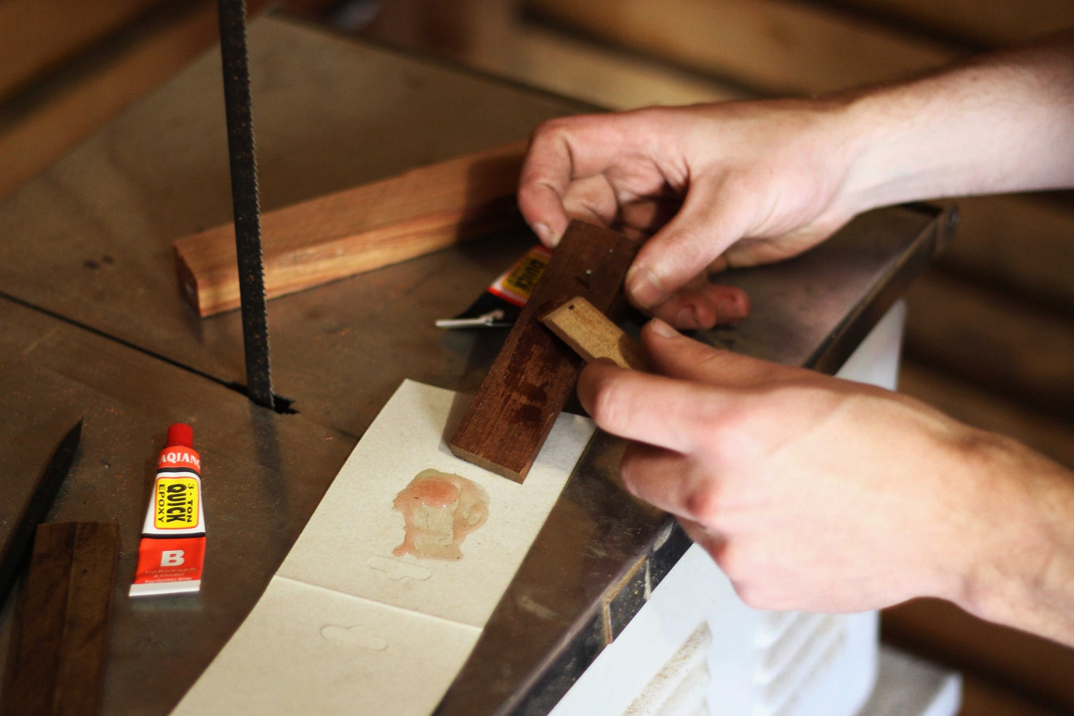 Gluing the Handle