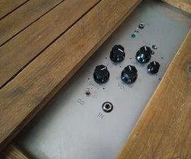 Pallet Table Guitar Amplifier