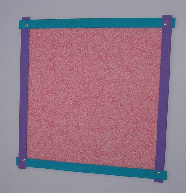 Magnet Board With Decorative Frame