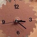 Circular Saw Clock