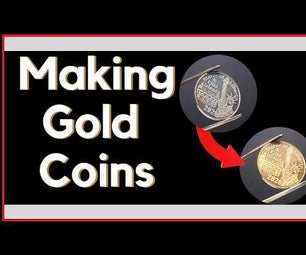 Giving Copper Coins a Brass Layer