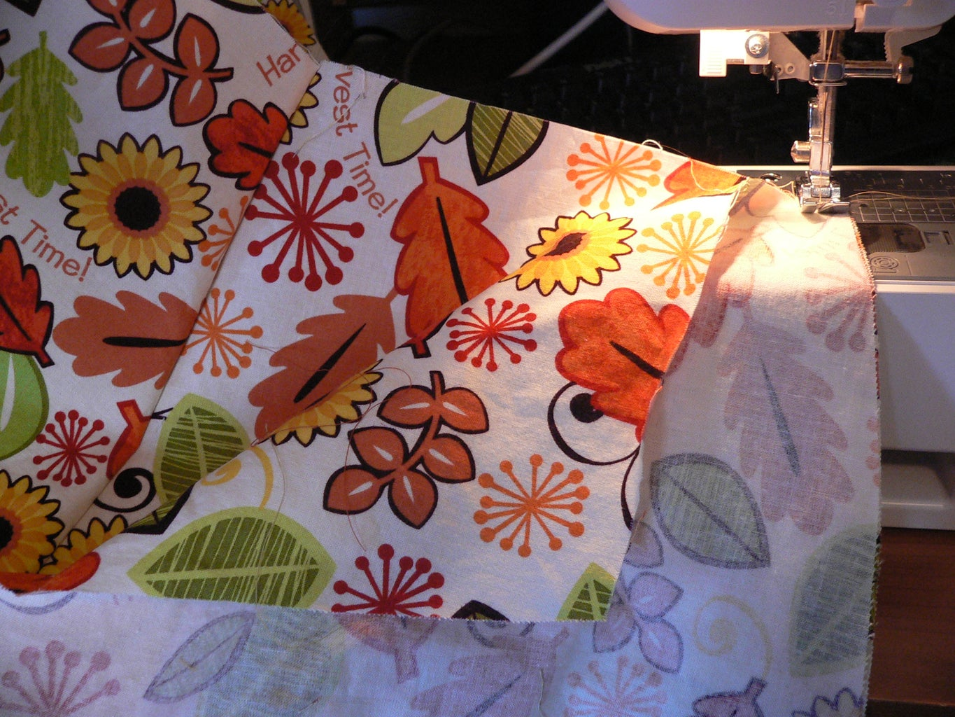 Sewing the Overskirt