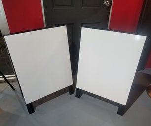 How to Build an a Frame Standing Sign