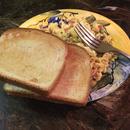 Easy eggs, toast, and bacon breakfast