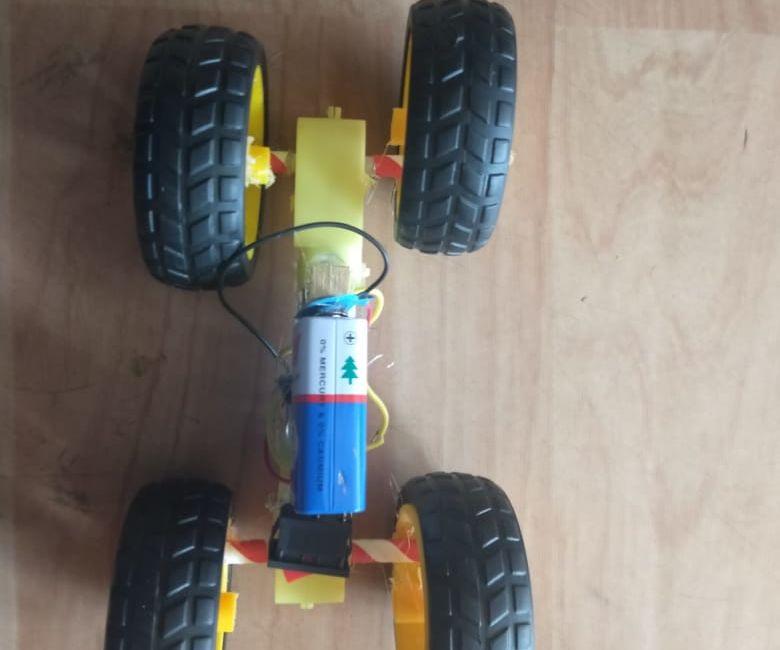 Gear Motor Car