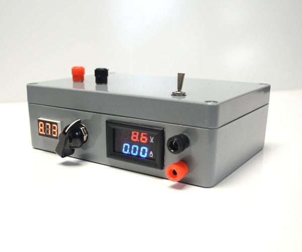 Portable Analogue Power Supply