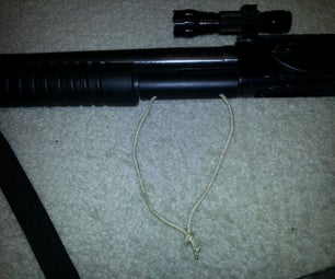 Cheap and Easy Extra Safety for Pump Action Shotgun
