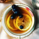 Blueberry Tea Cocktail ☀️