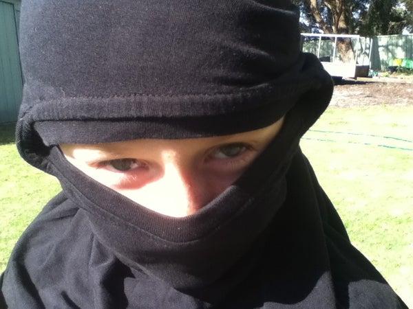Easy to Make Ninja Costume