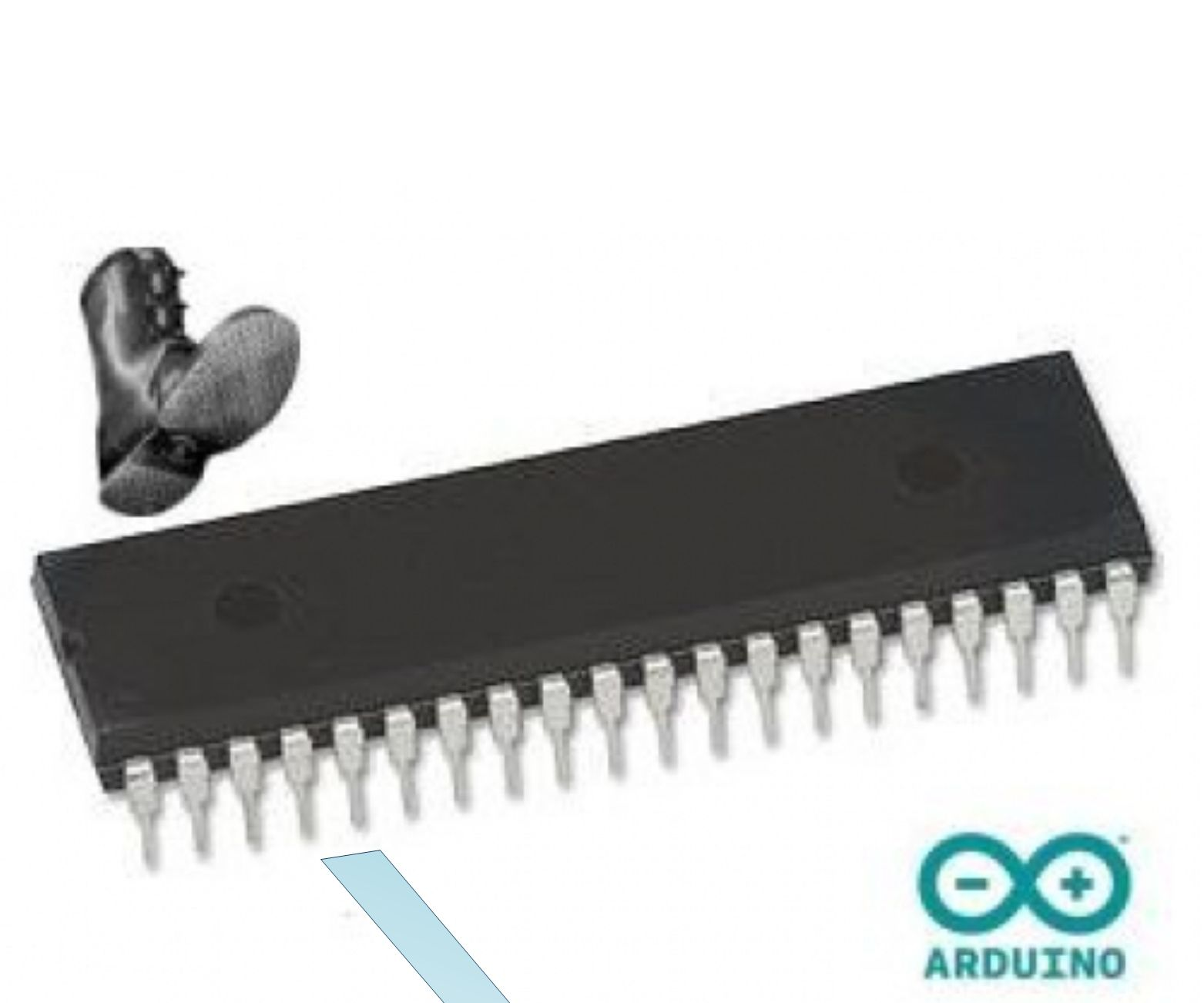 How to Disable JTAG Before Bootloading Atmegas 40DIP With Arduino IDE Mightycore