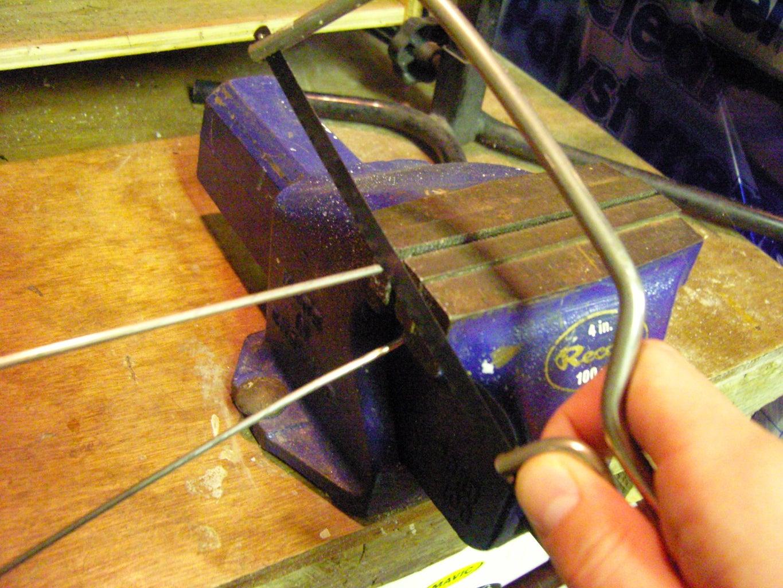 Cutting the Hanger