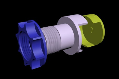 3D Print the Cable Vent and Its Ancillary Components