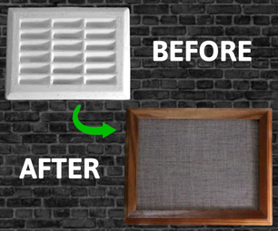 How to Hide a Wall Vent