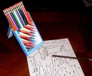 Pencil Box Easel