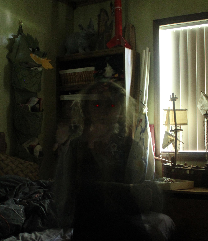 creepy ghost pic